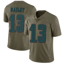 Nike Manasseh Bailey Philadelphia Eagles Youth Limited Green 2017 Salute to Service Jersey