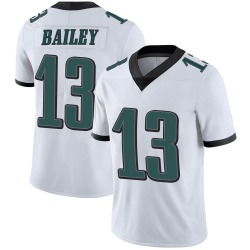 Nike Manasseh Bailey Philadelphia Eagles Youth Limited White Vapor Untouchable Jersey